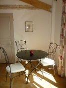 A Casetta dining area