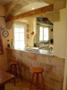 Main house bar and kitchen