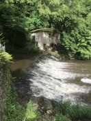 The old mill by the Goire river