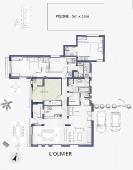 L'Olivier floor plan(ground floor)