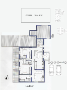 La Mer floor plan(upstairs)