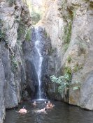 Ceret waterfall