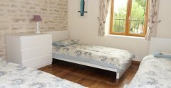 Le Pineau - triple room