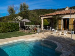 Villa with Covered Swimming Pool in a Rural Setting