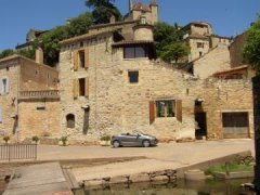 Beautiful Town House With Lovely Views, Lot, Occitanie