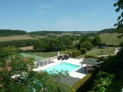 Swimming Pool  & Tennis Court