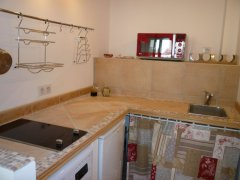 A Casetta kitchen area