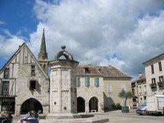 Eymet, medieval village