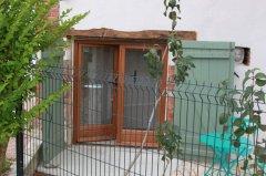 Private entrance to gite