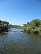 View of river 5 mins walk away