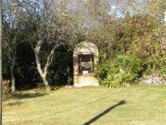 Water well in the garden
