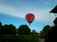 Hot Air Balloons flights from the town