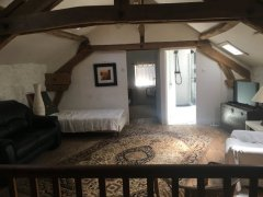 Furnished Stone Farmhouse with Pool