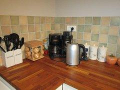 Coffee making corner
