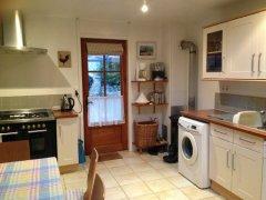 Kitchen to rear door