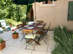 Spacious Village House in Corbières with Garden