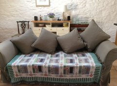 Settee for relaxing after sightseeing