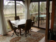 Delightful Canal/Riverside Chalet in Rural Setting
