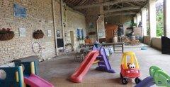 Play area / Indoor storage