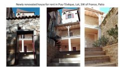 House to let in Puy-lEveque