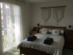 Your double bedroom has full patio doors and Juliet balcony