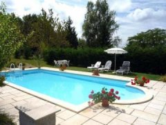 Private 10m x 5m swimming pool