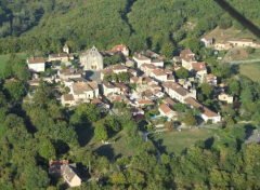 Montcabrier, property is bottom right hand corner.