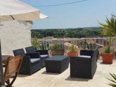 Suntrap Roof Terrace, Garden, Woodstove Dogs Welcome