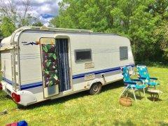 Glamping Vintage Caravan, Charente, Nouvelle-Aquitaine