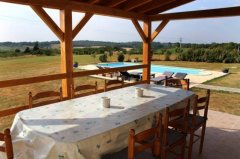 Farmhouse with Spectacular Views - Le Haut Metraud