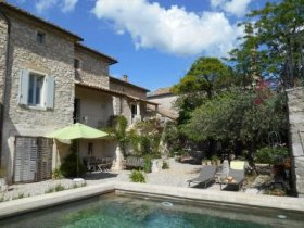 Stunning House at the Heart of a Vibrant Village, Gard, Occitanie
