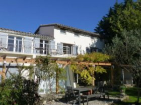 Close to Village Secluded Farmhouse with Views, Aude, Occitanie