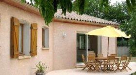Modern Villa On Outskirts Of Pretty Village, Aude, Occitanie