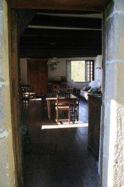 Front door into salon