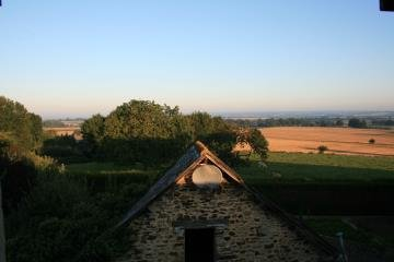 View over local countryside