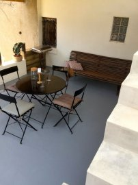 Terrace close to the kitchen