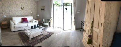 Living room panoramic shot