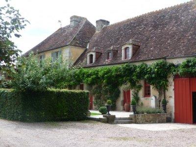 Entrance to La Cressonnière