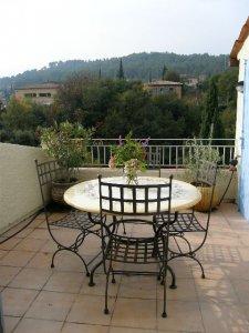 Terrace south facing