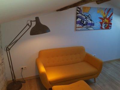 Master Suite Lounge Area