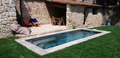 Pool - natural stone