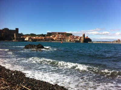 Nearby charming Collioure