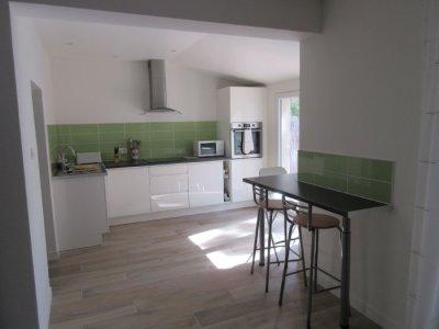Spacious new kitchen