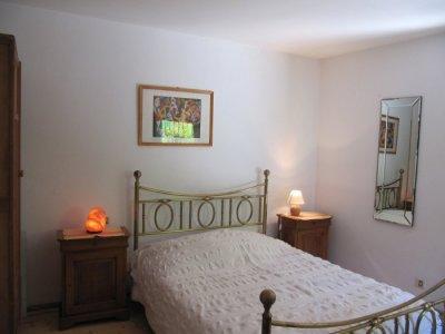 Main bedroom with walk in shower room