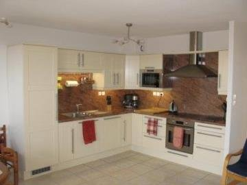 Well Equipped Kitchen with Built-In Appliances