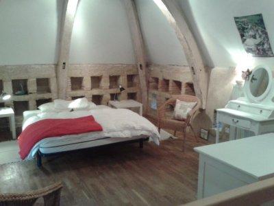 Pigeon loft bedroom