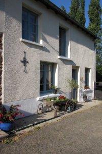 Back entrance of cottage