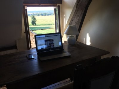 Writing room with a view