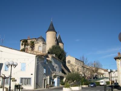 Pouzolles Chateau