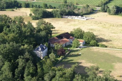 Aerial photograph of the property